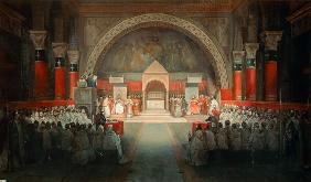 The Chapter of the Order of the Templars held at Paris, 22nd April 1147