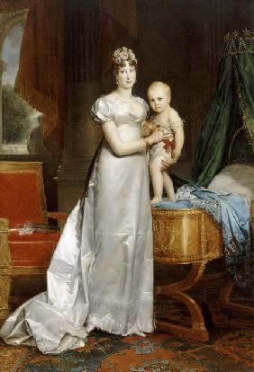 Empress Marie-Louise With the King of Rome