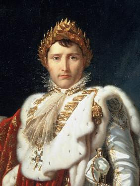 Portrait of Emperor Napoléon I Bonaparte (Detail)