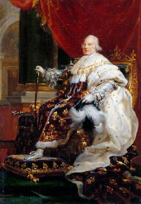 Portrait of Louis XVIII (1755-1824)