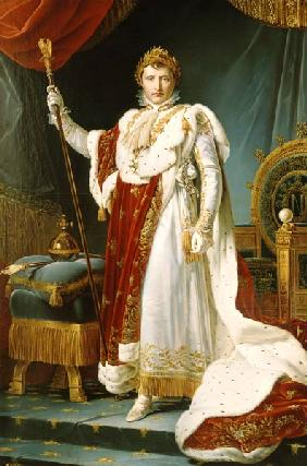 Napoléon Bonaparte en costume d'apparat. Copie