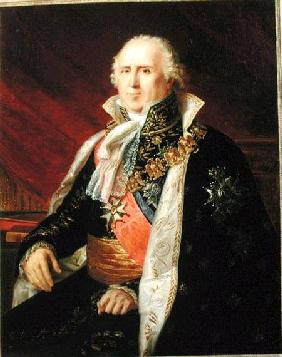 Charles-Francois Lebrun (1739-1824) Duke of Plaisance in the Costume of the Archtreasurer of the Emp