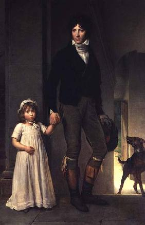 Jean-Baptiste Isabey (1767-1855) and his Daughter, Alexandrine (1791-1871)