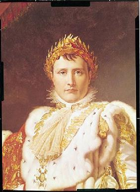 Napoleon I (1769-1821) in Coronation Robes