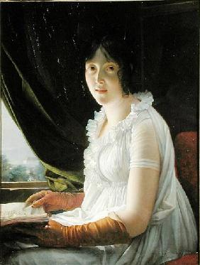 Seated Portrait of Marie-Philippe-Claude Walbonne (1763-c.1837)