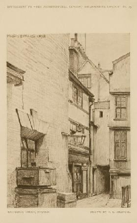 Exchange Court on the Strand (engraving)