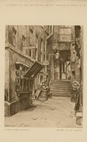 George Court on the Strand (engraving)
