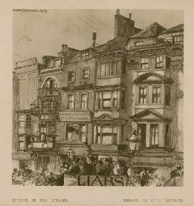 Houses in the Strand (engraving)