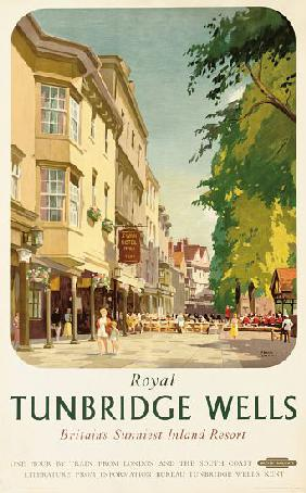 Royal Tunbridge Wells, poster advertising British Railways