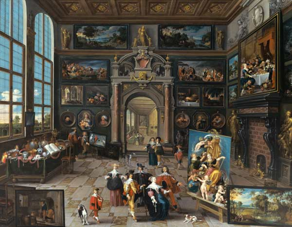 gallery of a collector together with c frans francken ii. Black Bedroom Furniture Sets. Home Design Ideas
