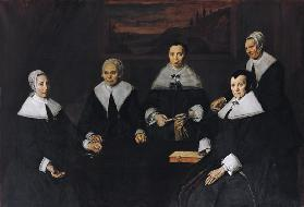 The Regentesses of the Old Men's Almhouse, Haarlem