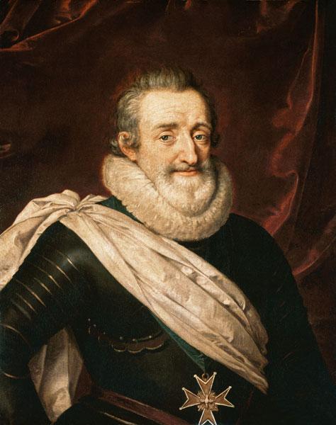 Portrait De Henri Iv 1553 1610 Roi De France Tableau De Frans Ii Pourbus En Reproduction Imprimee Ou Copie Peinte A L Huile Sur Toile