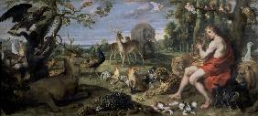 Orpheus and the Animals