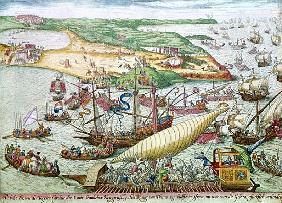 The Siege of Tunis or La Goulette Charles V in 1535