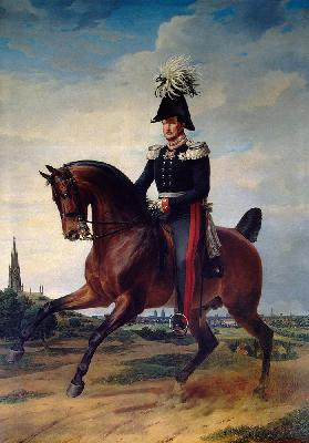 Equestrian Portrait of Frederick William III of Prussia (1797-1840)