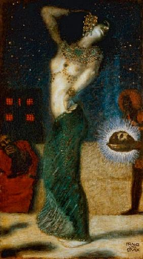 Salome Dancing / Franz von Stuck /c.1906