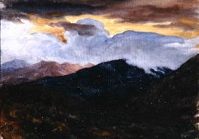 Landscape, c.1865 (oil on canvas)
