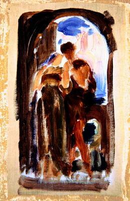 Sketch for 'Wedded', c.1881-82 (oil on canvas)