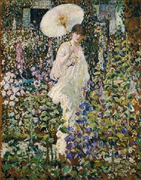 Frederick Karl Frieseke - Sun and Wind
