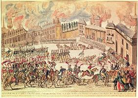 Entry of the French Army Commanded Emperor Napoleon into Moscow, 14th September 1812