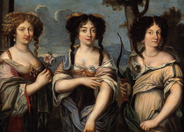 Portrait of the Three Nieces of Cardinal Mazarin