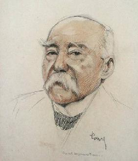 Portrait of Georges Clemenceau (1841-1929)
