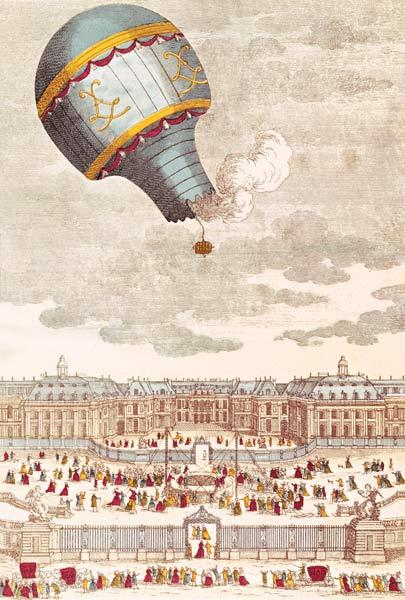 The Ballooning Experiment at the Chateau de Versailles, 19th September