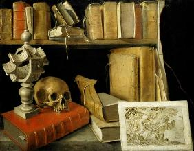 Vanitas with a Sundial