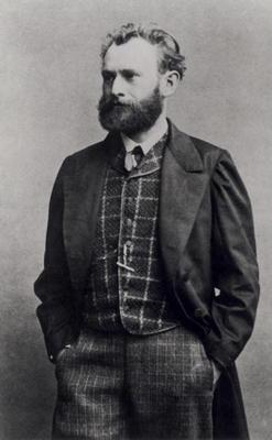 Edouard Manet (1832-83) (b/w photo)