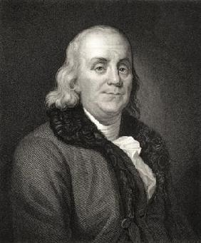 Portrait of Benjamin Franklin (engraving)