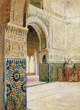 Interior of the Alhambra, Granada