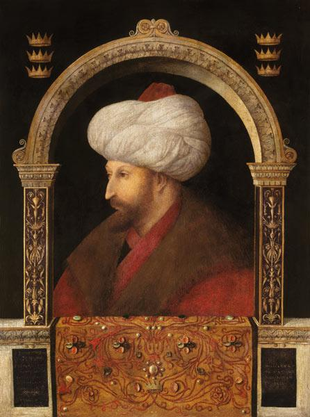 The Sultan Mehmet II (1432-81)