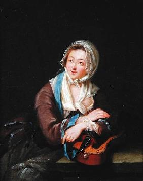 Lady with a Musical Instrument