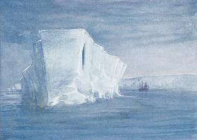 An Iceberg, illustration from ''Nimrod in the Antarctic 1907-09'' by Sir Ernest Shackleton (1874-192