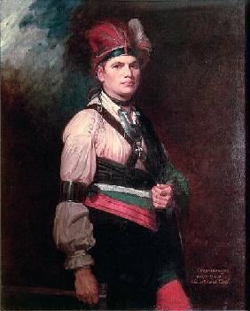 Joseph Brant, Chief of the Mohawks