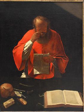 Saint Jerome reading (Copy)
