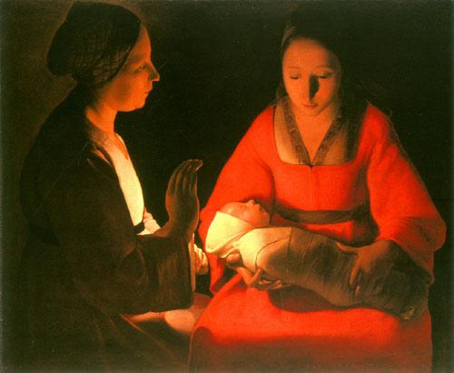 nativité par Georges de la Tour