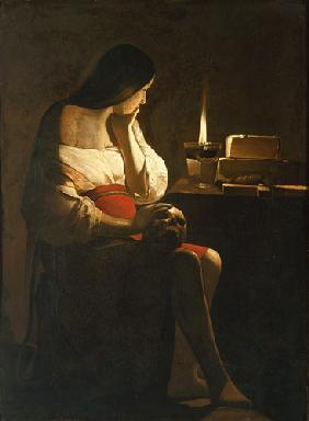 The St. Magdalena with the night light (called: Ma