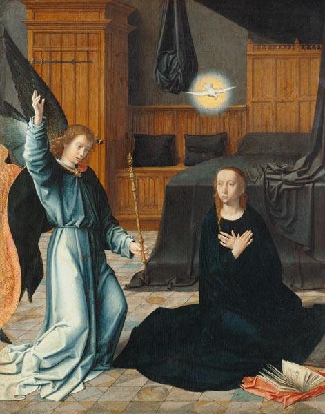 The Annunciation - Gerard David en reproduction imprimée ou copie ...