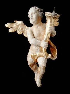 Pair of flying putti
