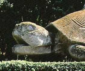 The Giant Tortoise, from the Parco dei Mostri (Monster Park) gardens laid out between 1550-63 by the