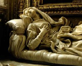 Death of the Blessed Ludovica Albertoni, from the Altieri Chapel