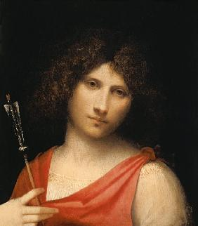 Youth holding an Arrow