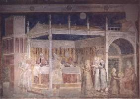 Herod's Banquet, from the Peruzzi Chapel