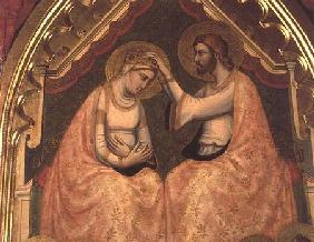 Coronation of the Virgin Polyptych (detail of centre panel)