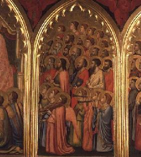 Coronation of the Virgin Polyptych (middle right panel)