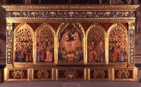 Coronation of the Virgin Polyptych (panel)