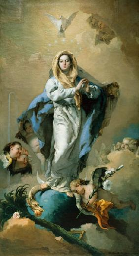 G.B. Tiepolo, L''Immaculee Conception