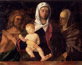 Madonna and Child with St. John the Baptist and St. Anne