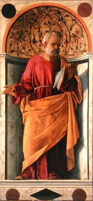 St. Peter (tempera on canvas)